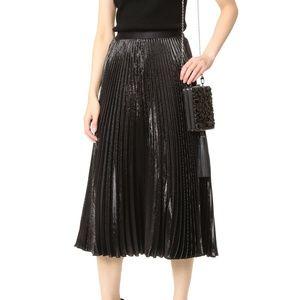 Diane von Furstenberg Heavyn Metallic 12 Skirt